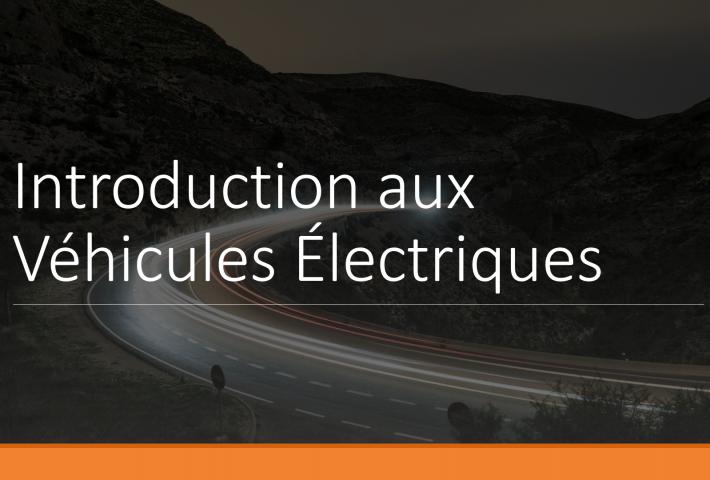 Introduction aux véhicules électriques
