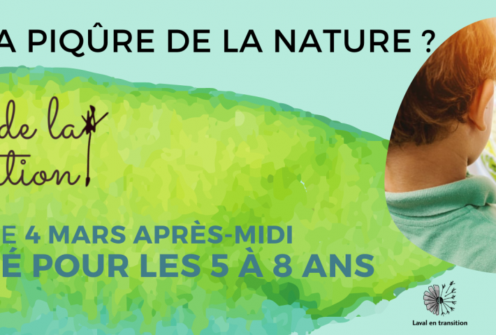As-tu la piqure de la nature ? (5-8 ans)