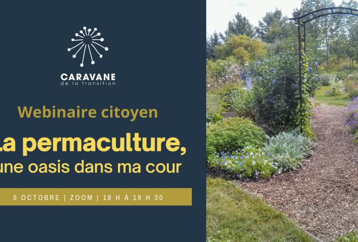 La permaculture, une oasis dans ma cour – Webinaire Citoyen